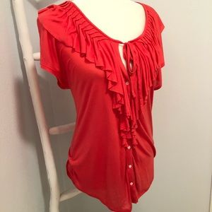 Loft Top Blouse small ladies short sleeve 3/$20